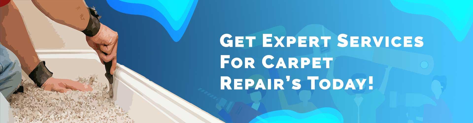 Carpet repair cleaning